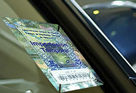 mexican importation permit on car