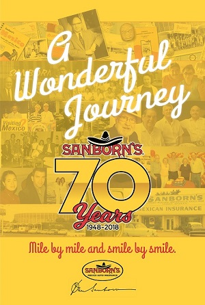 sanborns 70th anniversary